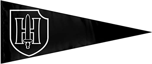 sanjqxin 9th SS Panzer Division 3D Printing Indoor Flag Outdoor Bunting Banner Large Pennants 12'' X30' in