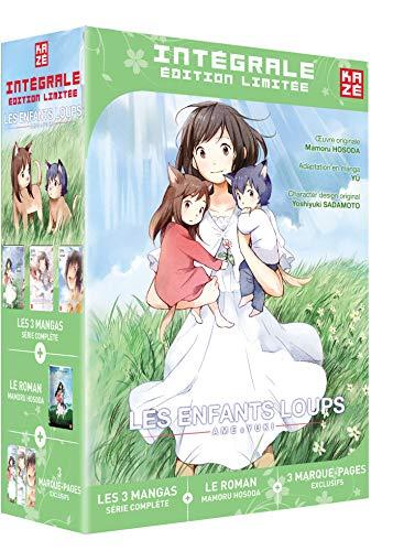 Les enfants loups Ame Yuki Coffret Integral