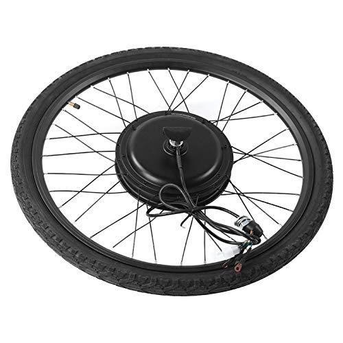 DAUERHAFT Performance Potente 48V 1000W E-Bike Juego de conversión de Motor de Rueda Delantera Juego de conversión de Bicicleta, para convertir Cualquier Bicicleta con Ruedas de 26 Pulgadas