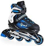 SMJ sport–Patines en línea, Unisex, Inline Skates, Multicolor, 34-37