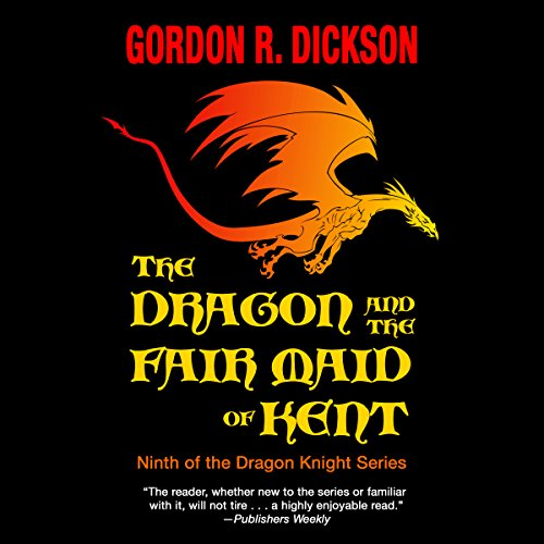 The Dragon and the Fair Maid of Kent audiobook cover art