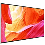 TaoTronics TT-HP023 120 Inch Projector Screen 16: 9 HD Anti-Crease Projection Movies Screen for Home...
