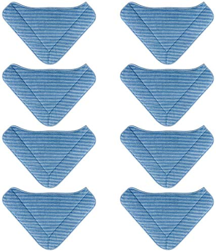 nonbrand 8 Pack Replacement Steam Mop Pads for PurSteam Therma Pro 411 Therma Pro Elite 12 in 1
