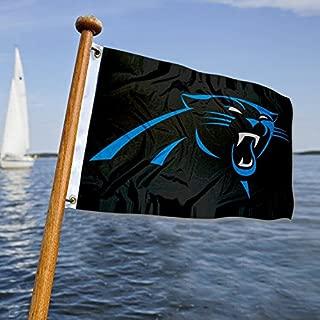 WinCraft Carolina Panthers Boat and Golf Cart Flag