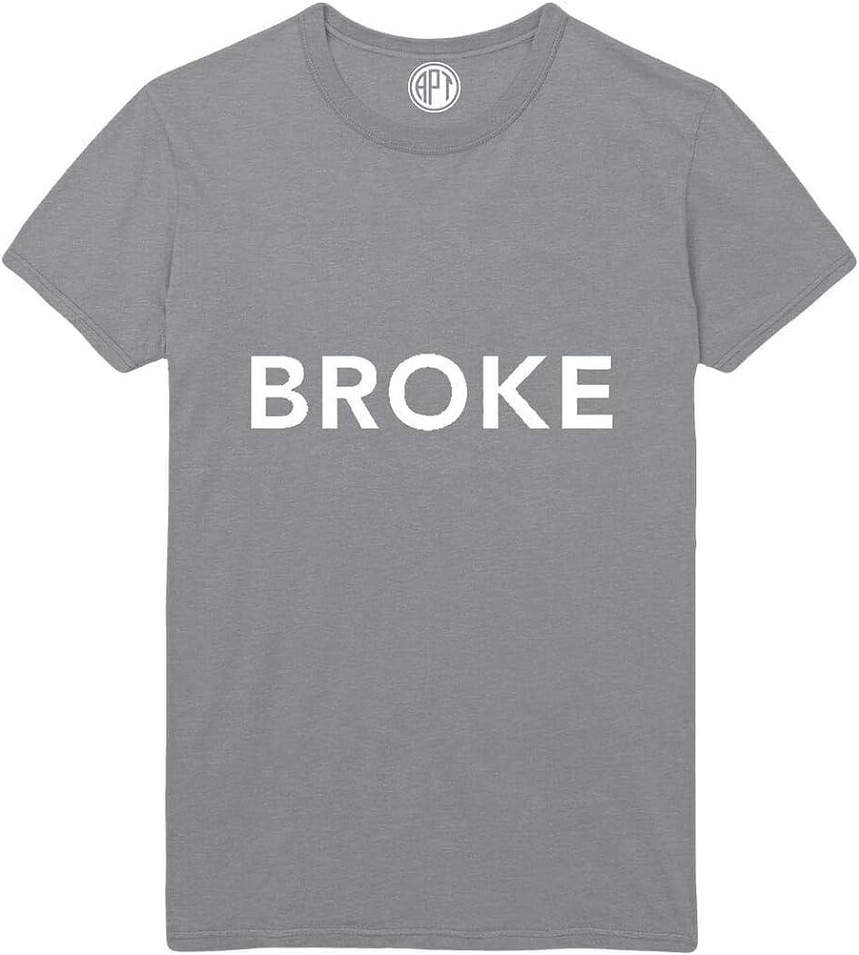 Broke Printed T-Shirt