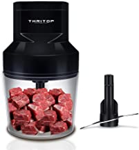 THRITOP Food Chopper,150W Mini Chopper Small Electric kitchen mincer for...