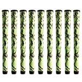 Winn Dritac x Standard Green/Black - 9 Piece Golf Grip Bundle
