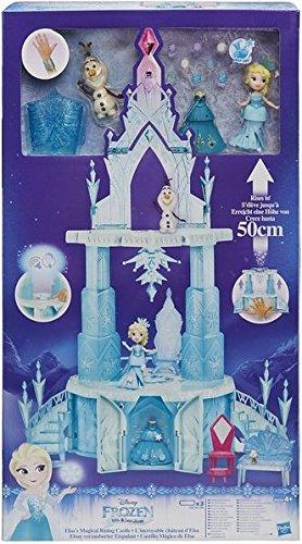 Hasbro Disney Die Eiskönigin B6253EU5 - Little Kingdom Elsas verzauberter Eispalast, Spielset