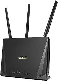 ASUS RT-AC85P Wireless-AC2400 de Banda Dual Gigabit Router Juegos móviles, MU-MIMO Tech, Adaptable QoS, Análisis de tráfico y, AiRadar, USB 3.1 (Genera