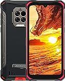 DOOGEE S86 Pro [2021] 8GB +128GB Movil Libre, 8500mAh Batería, IP68 IP69K Movil Resistente Agua y Golpes con Termómetro Infrarrojo, Triple Cámara de 16 MP, Helio P60 4G Smartphone, 6.1inch, NFC, Rojo