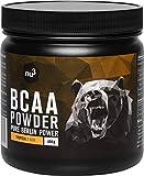 nu3 BCAA Vegan en poudre 400g Tropical - Acides aminés pendant l'effort sportif pour la récupération - Apport d'énergie optimal pour les muscles et les athlètes - Réuit les courbatures