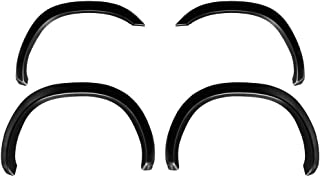 Premium Fender Flares for 2002-2008 Dodge Ram 1500; 2003-2009 Ram 2500 3500 (ONLY Fit Fleetside Models with 6.5' Bed) | Fine-Textured Matte Black Paintable Factory Style 4pc