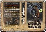 NOT Texas Chainsaw Massacre Blechschild Plaque Vintage