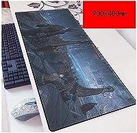 マウスパッドゲームスピードゲームマウスパッド| XXLマウスパッド| 900 x 400mm大型| 3mm厚ベース|完璧な精度とスピード A