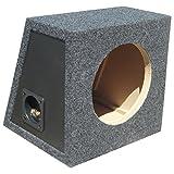 Generique Box Caja VACÍA por Sub SUBWOOFER DE 20,00 CM 200 MM 8' DE Forma Trapezoidal DE 8 litros EN SUSPENSIÓN PNEUMÁTICA (Caja SELLADA)