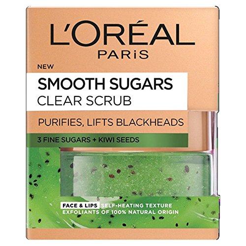 L'Oreal Paris Smooth Sugar Nourish Scrub viso e...