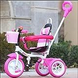 sheng Niños Triciclo Male Girl Bikes Niño Bikes Baby Trolley 2-5 años de edad...