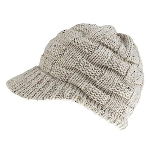 DLSM Sombrero de otoño Gorra de béisbol de Cola de Caballo de Punto Gorra de béisbol de Cola de Caballo Femenina Sombrero de Copa vacío Adecuado para Senderismo al Aire Libre Sombreros de Golf-C7