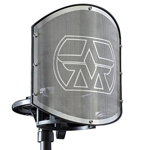 Aston Microphones SwiftShield Premium Universal Microphone Shockmount and Pop Filter