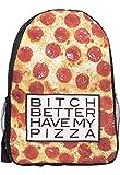 Zaino Zainetto zaino scuola borsone da pizza magnetica Hipster Swag