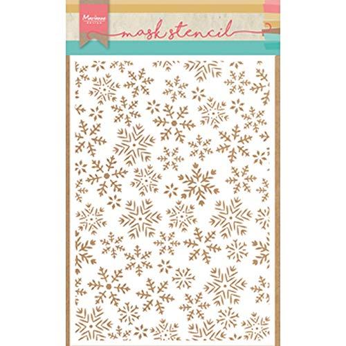 Marianne Design Plantilla, Cristal de Hielo, para Scrapbooking, creación de Tarjetas y Otras Manualidades con Papel, 0