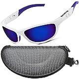 ZILLERATE Gafas de Sol Hombre Polarizadas Gafas de Sol Polarizadas Hombre y Mujer, Gafas de Sol Deportivas, Ciclismo Pesca Golf Running Conducción, Protección UV400, Montura Ligera Y Envolvente