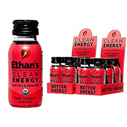 top rated Ethan's Organic Energy Drink, Spicy Cherry Ginger, Vegan, Gluten Free, Green Tea Extract, … 2021