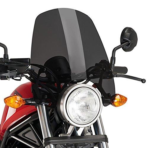 Cockpitverkleidung Touring für Honda Rebel 500 17-19 dunkel getönt Puig 9462f