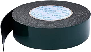 DFYYQ High-Viscosity Strong Black Waterproof PE Foam Sponge Double-Sided Tape 0.5MM Thick 20m Long