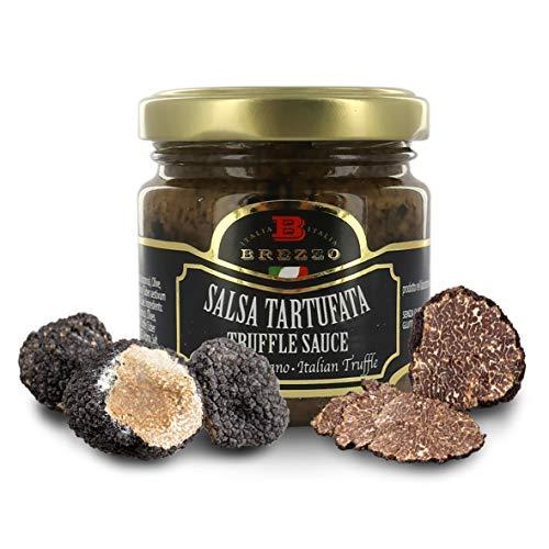 Sauce Truffe Noire | Pate a Tartiner | Élégant Emballage idéal pour cadeau | 80g