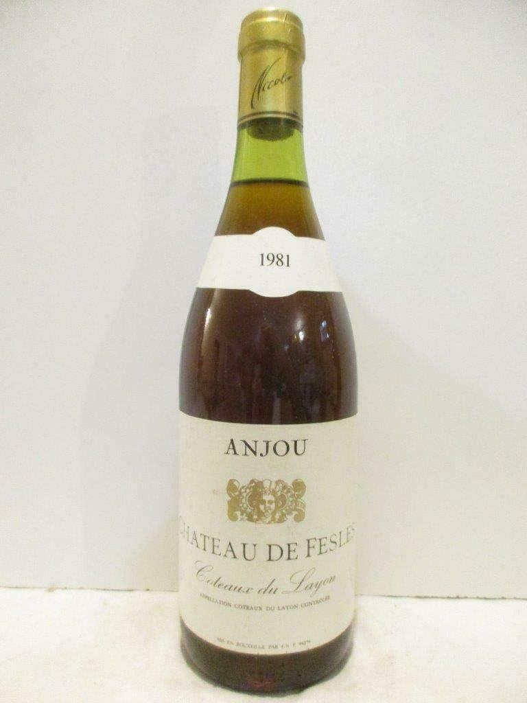 coteaux du layon château de fesles liquoreux 1981 - loire - anjou
