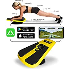 "STEALTH IS THE NEW PORTABLE HEALTH CLUB QUALITY FITNESS PRODUCT that pushes you to the highest level of core training in the privacy of your own home. THE STEALTH FITNESS APP IS FREE and includes 2 free games: ""Stealth Speed Gliding"" and ""Galaxy Adve..."