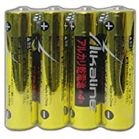 メモレックス・テレックス メモレックス アルカリ乾電池 単4形 4本シュリンクパック