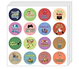 Creanoso I Can't Adult Today Stickers (5-Sheet) - Premium Quality Gift Set for Adults - Stocking Stuffers Corparate Giveaways and Party Favors