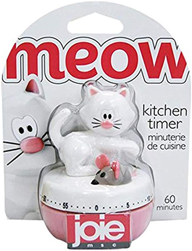 Joie Meow Cat 60 Minute Kitchen Timer Home Decor Products