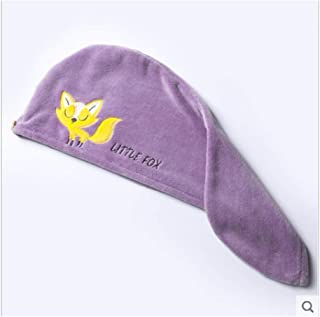 LBLMS Dry Hair Cap, Super Absorbent Quick-Drying Bath Towel, Cute Women's Quick-Drying Bath Towel, Shower Cap (Color : D)