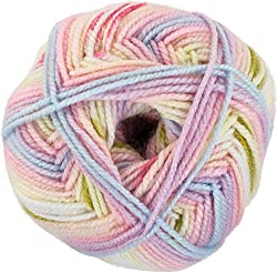 variegated red heart yarn