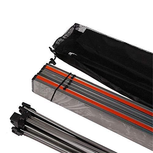 Good salontafel Tv-standaard lamp telefoontafel sofa bijzettafel eiken tafel Fanuosu-Sp inklapbare mini outdoor klaptafel dunne lichte klaptafel met bekerhouders geschikt voor vissen 68,5 x 46,5 x 40,5 cm grijs