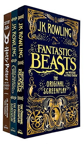 J.K. Rowling Collection 3 Books Set...