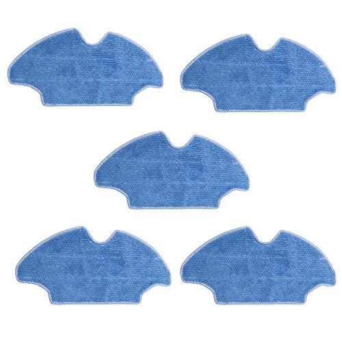 TeKeHom Pack of 5 Mopping Cloths Pads for Conga, Conga Slim y Conga Slim 890. Pasa la mopa Trapos de Limpieza