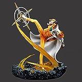 30 cm One Piece Admiral Yellow Ape Scena Enorme Whirlwind Legs Edizione Limitata Anime Personaggio Modello Statua Figure Decorazioni Collezione PVC Decorazioni da scrivania