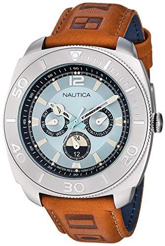 Nautica Reloj Casual de Cuarzo multifunción para Hombre