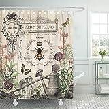 Semtomn cortina de ducha Athens Raphael School of Philosophy Fine Famous Painting Vintage 167,6 x 182,8 cm Home Decor impermeable baño cortinas Set con ganchos