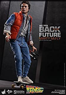 Hot Toys Back to the Future Marty McFly Movie Masterpieces 1:6 Scale Action Figure by Back To The Future