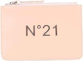 N°21 Women's 17310B356beige Beige Leather Clutch