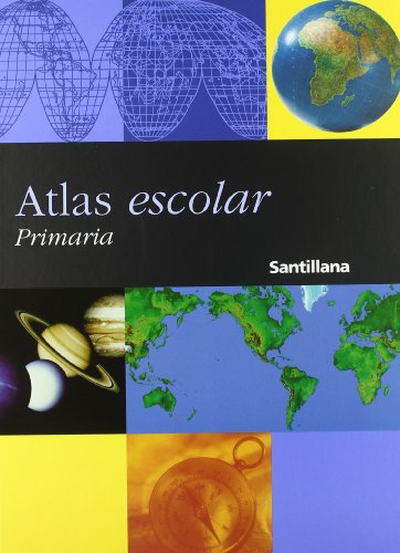 Atlas escolar, Educación PriMaría - 9788429483031