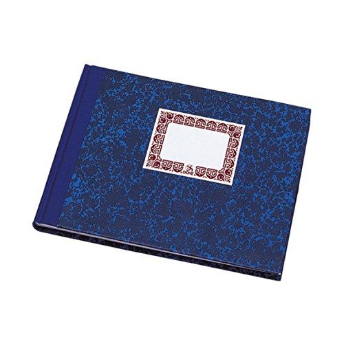 Dohe 9961 - Cuaderno cartoné, rayado horizontal, cuarto apaisado