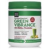 Vibrant Health, Green Vibrance, Plant-Based Superfood Powder, Vegan...