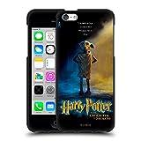 Head Case Designs Ufficiale Harry Potter Dobby Poster Chamber of Secrets III Cover Nera in Morbido Gel Compatibile con Apple iPhone 5c