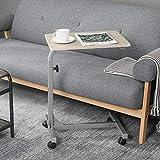 FurnitureR Escritorio portátil. Mesa portátil para computadora portátil. Mesa Plegable Ajustable para computadora. Sirve la función de inclinación para Laptop y Bandeja de Desayuno Plateado